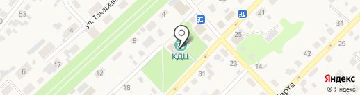 Клаксон на карте Киреевска