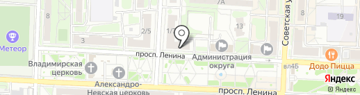 Общественная палата г. Балашихи на карте Балашихи