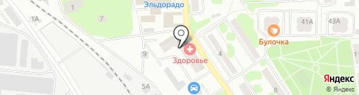 Магазин ламината на карте Ивантеевки