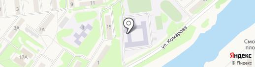 Киреевский лицей на карте Киреевска