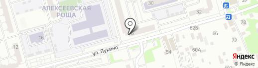 Кружка на карте Балашихи