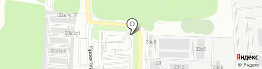 Администратор Московского парковочного пространства, ГКУ на карте Некрасовки