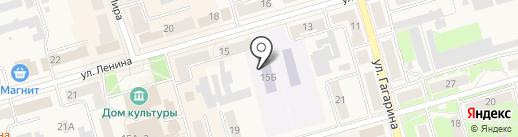 Светлячок на карте Киреевска