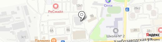 Марирос на карте Ивантеевки