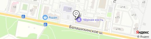 Мульт на карте Балашихи