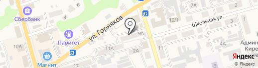 Димка на карте Киреевска