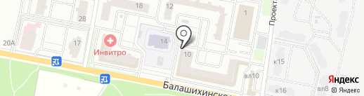 Катрин на карте Балашихи