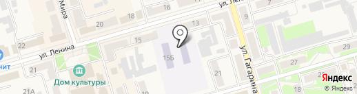 Детский сад №5, Ромашка на карте Киреевска