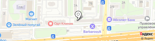 Бриг Гео на карте Балашихи