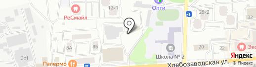 ИНКОМ-Недвижимость на карте Ивантеевки