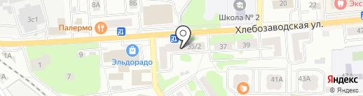 Универсальный магазин на карте Ивантеевки
