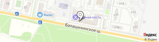Плитка Подмосковья на карте Балашихи