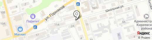 Магазин товаров для спорта и туризма на карте Киреевска