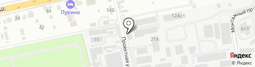 Транс Стоун на карте Балашихи