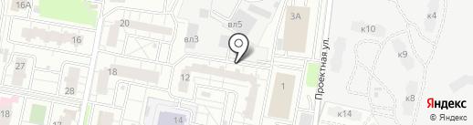Натали на карте Балашихи