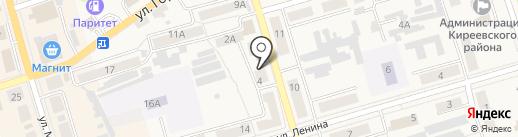 Камелия на карте Киреевска