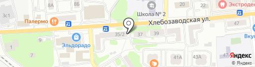 Клеопатра на карте Ивантеевки