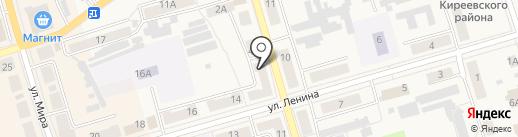 Небоскреб на карте Киреевска