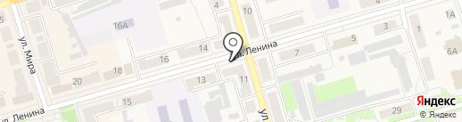 Владимирский на карте Киреевска