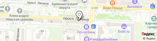 Адвокатская контора №25 на карте Балашихи
