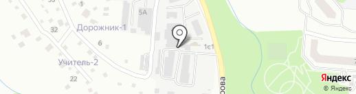 Комбинат коммунального хозяйства и благоустройства на карте Ивантеевки