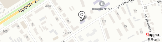 Детский сад №142 на карте Макеевки