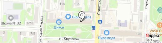 Спорт-Пульс на карте Балашихи