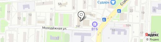 Эйч Кью Резалт на карте Балашихи