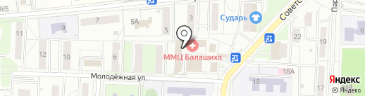 Логопедический кабинет Элины Болдыревой на карте Балашихи
