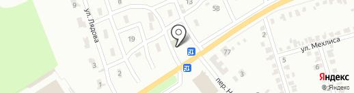 Генстар на карте Макеевки