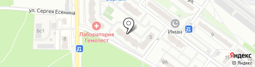 3 Служба на карте Балашихи