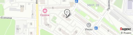 Pozzzitron на карте Балашихи