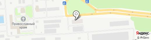 Стройдеталь на карте Макеевки
