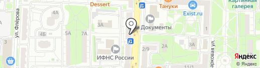 Благо на карте Балашихи