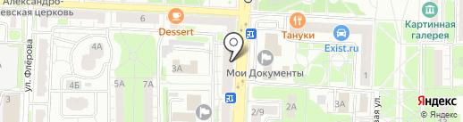 Ангара на карте Балашихи