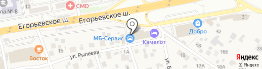Старый Баку на карте Томилино