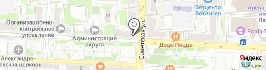 Объединение ветеранов авиационной корпорации Рубин на карте Балашихи