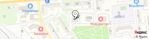 Инвесттрансстрой на карте Ивантеевки