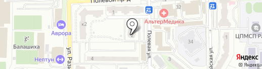 ДМ Холдинг на карте Балашихи