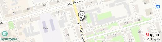 Нотариус Быковская О.И. на карте Киреевска