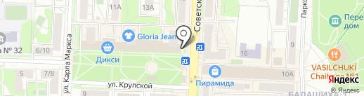 МТС на карте Балашихи