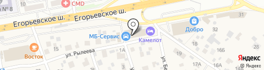 2G & K на карте Томилино