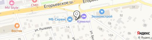 Народный сервис на карте Томилино