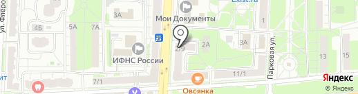 Студио НП на карте Балашихи