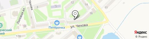 Евростиль на карте Киреевска