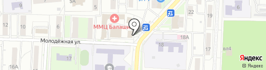 Банкомат, Банк ВТБ 24, ПАО на карте Балашихи