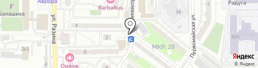 Сеть магазинов белорусских продуктов на карте Балашихи