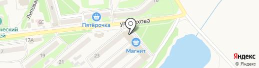 Модный базар на карте Киреевска