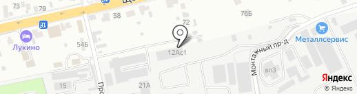 Станум на карте Балашихи