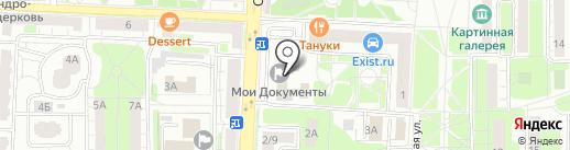 БТИ на карте Балашихи